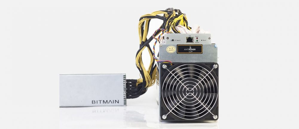 Antminer L3+ With Power Supply
