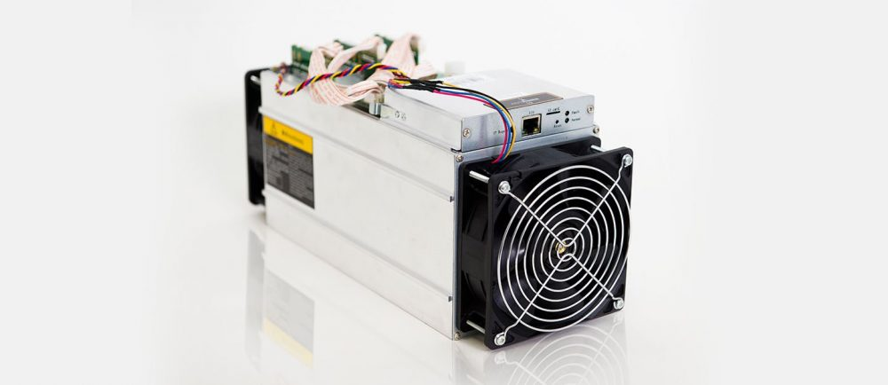 Bitmain AntMiner S9 14TH/S Bitcoin Miner Product Photo