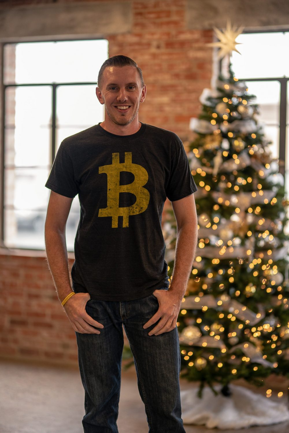 Crypto Bitcoin Logo Shirt